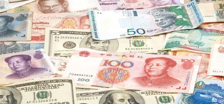 Overboekingen in vreemde valuta